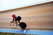 istock Velodrome bike racer #3 182691801