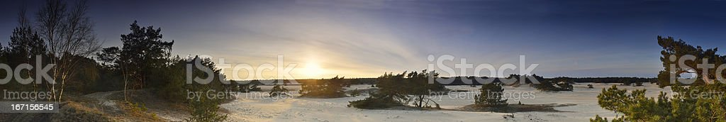 Veluwe Panorama royalty-free stock photo