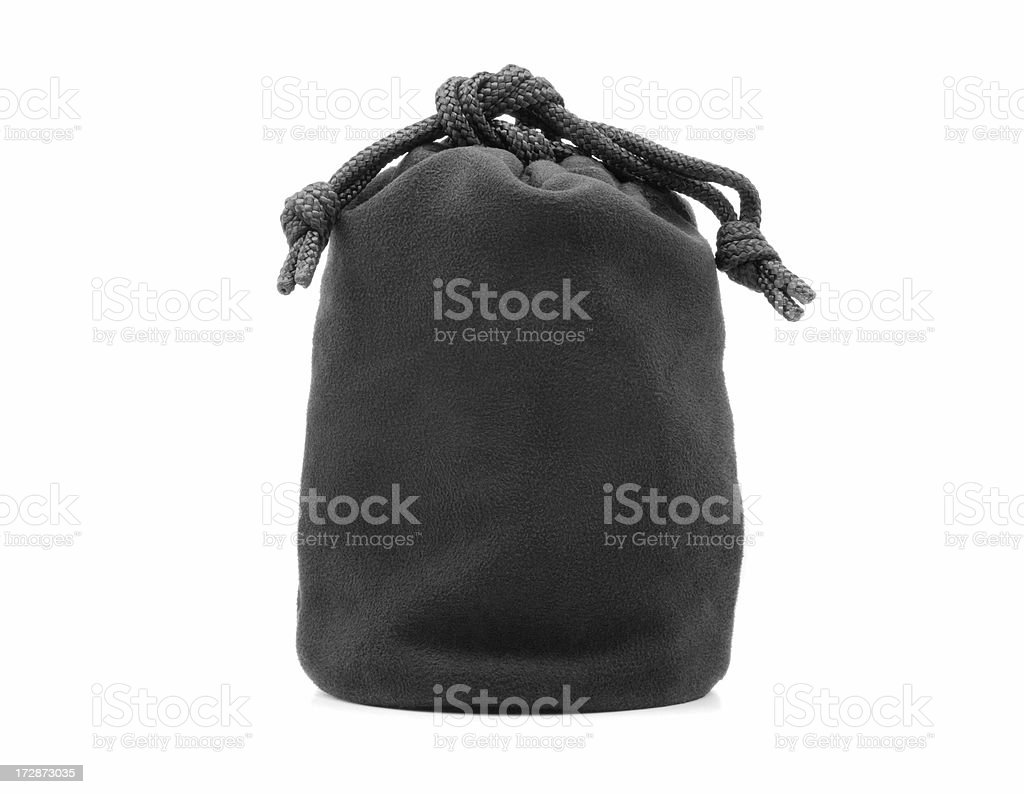 Velvet Pouch (Tied) royalty-free stock photo