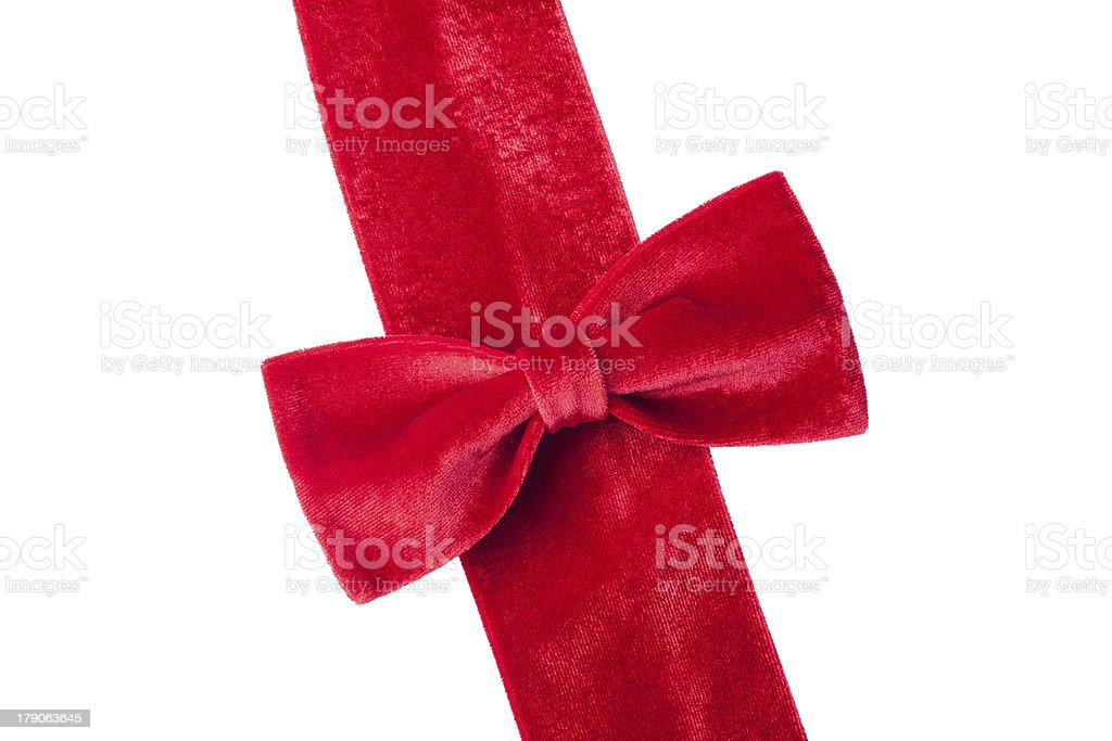 Velvet ribbon royalty-free stock photo