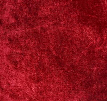 Velvet Texture Background Red Color Christmas Festive