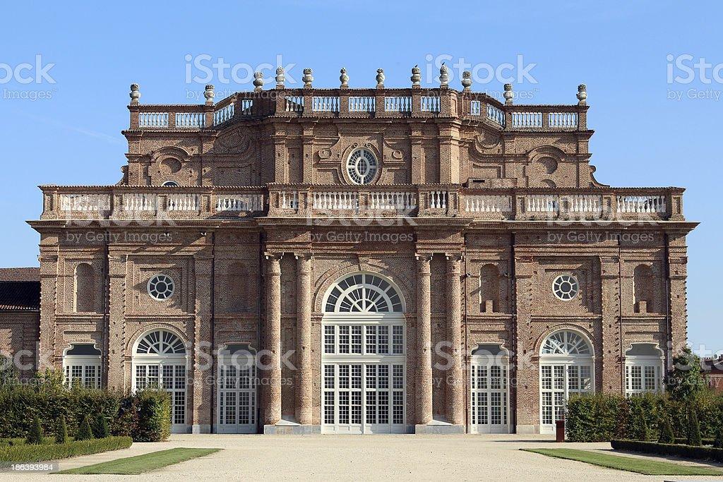 Venaria Reale Palace in Torino ITALY stock photo