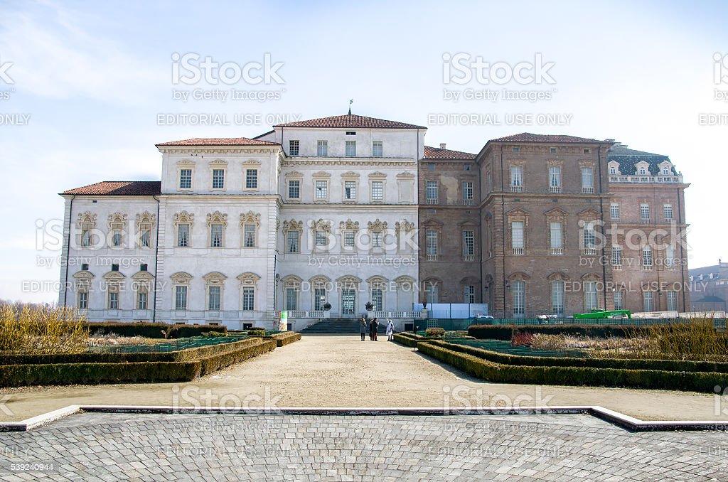 Venaria real Palacio Real Turín piedmont Italia foto de stock libre de derechos