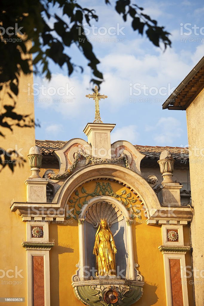Vence Cathedral Provence royalty-free stock photo