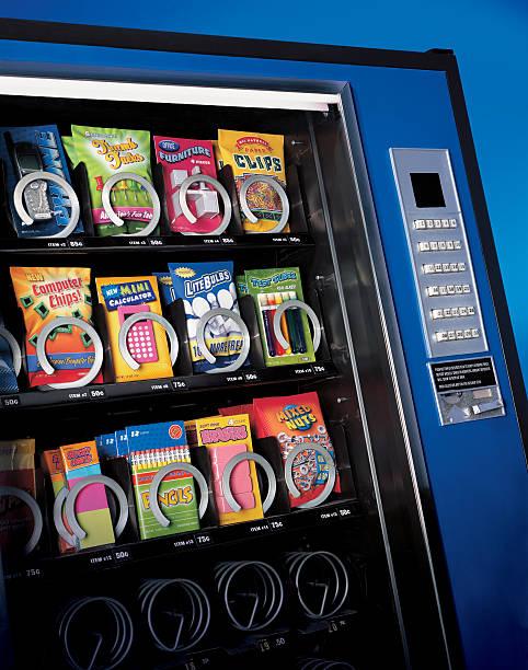 Verkaufsautomat Büromaterialien – Foto