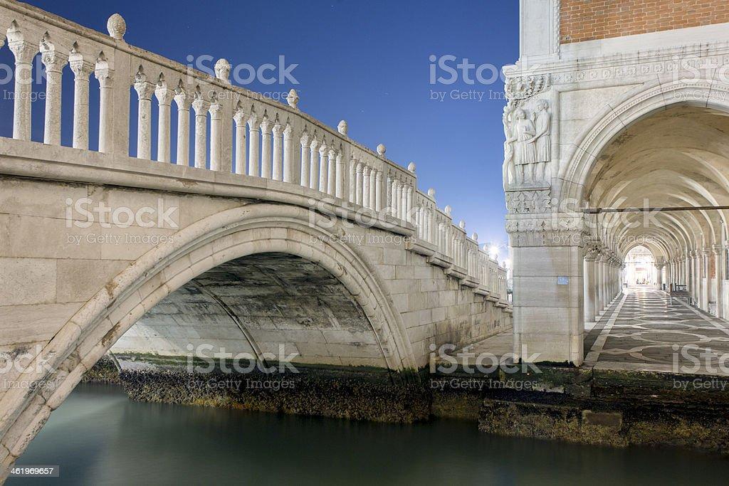 Venecia brigde au Palais des Doges - Photo