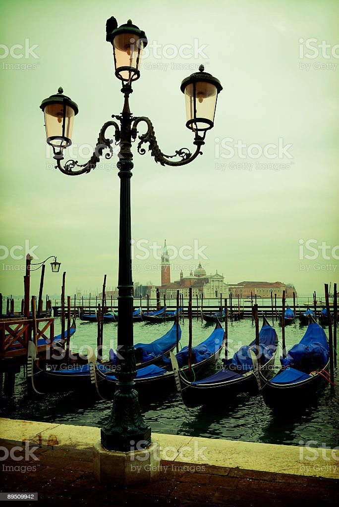 venecia - grand canal royalty-free stock photo