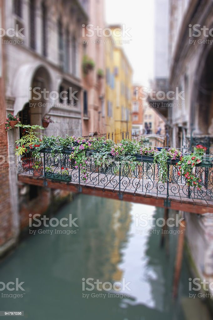 Venecian Bridge royalty-free stock photo