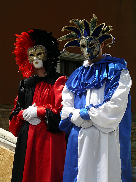 Venetian actors stock photo