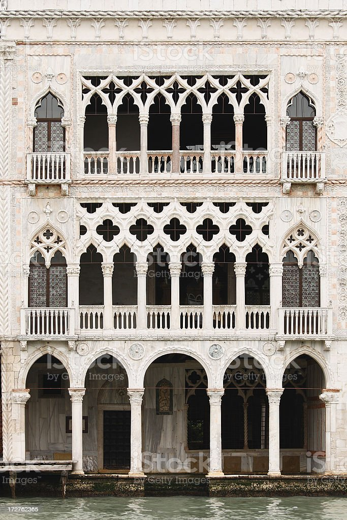 Venetian Architecture royalty-free stock photo