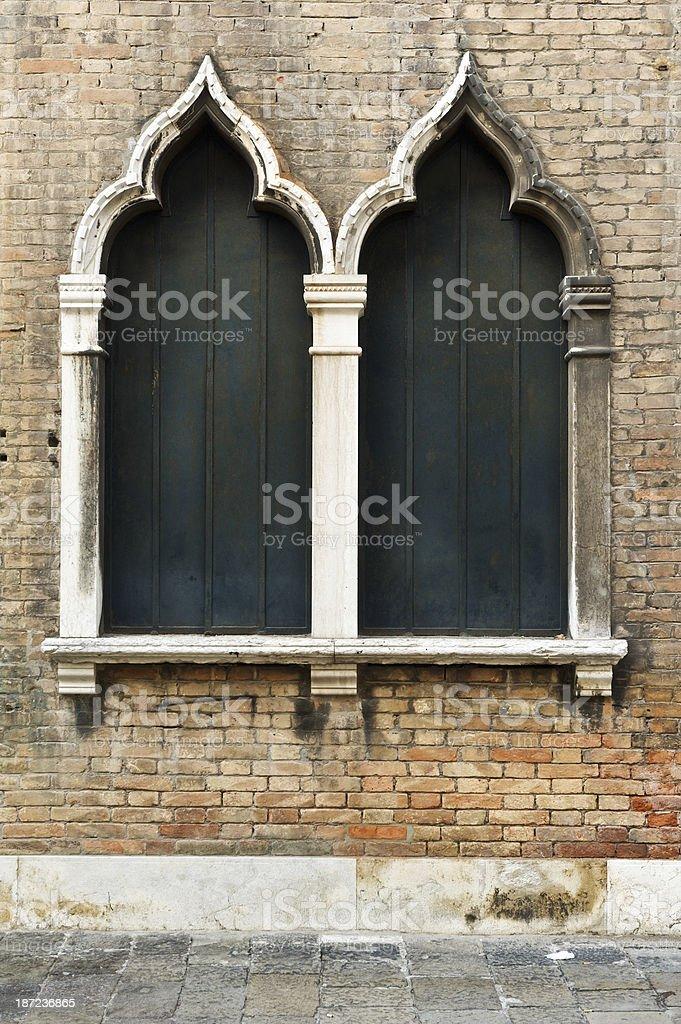 Venetian architecture royalty-free stock photo