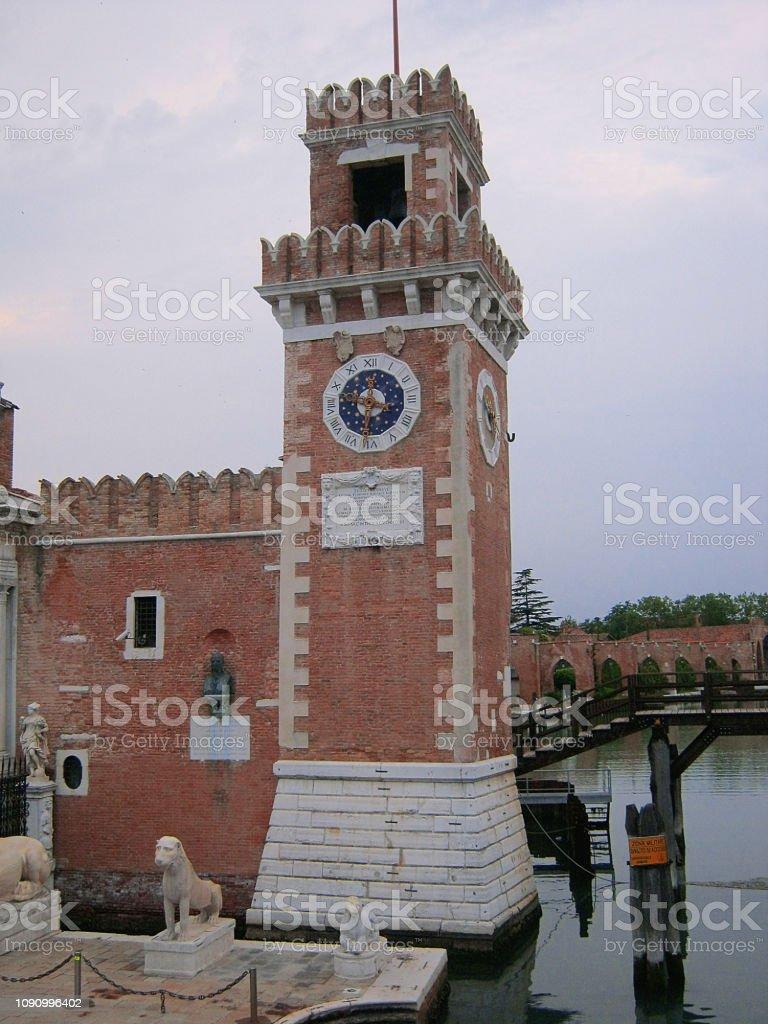 Arsenal de Veneza. Itália - foto de acervo