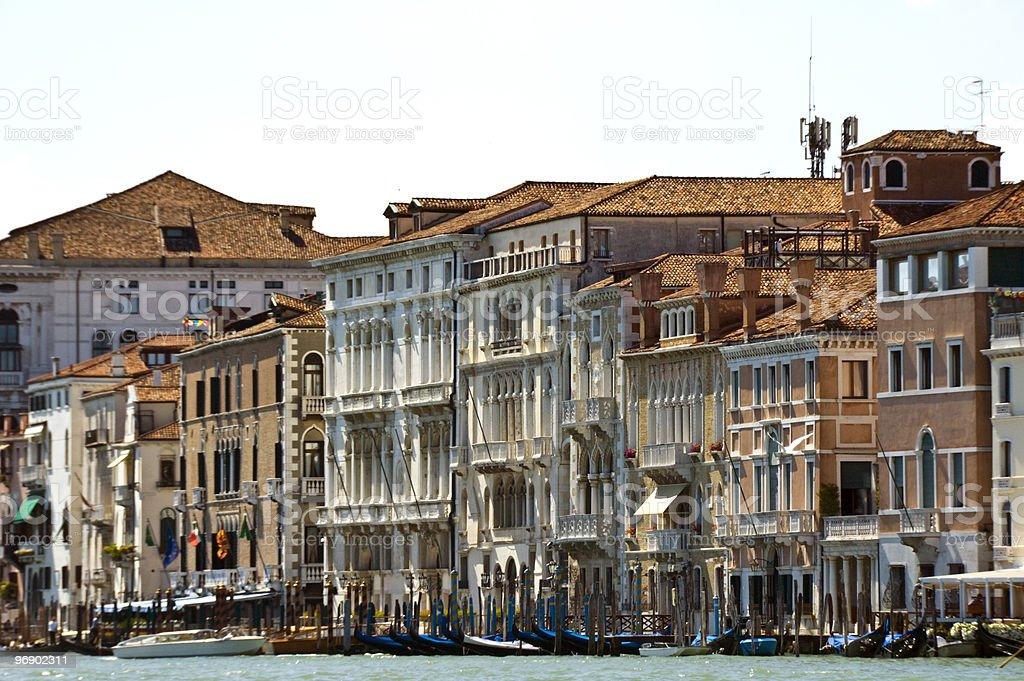 Venetian buildings royalty-free stock photo
