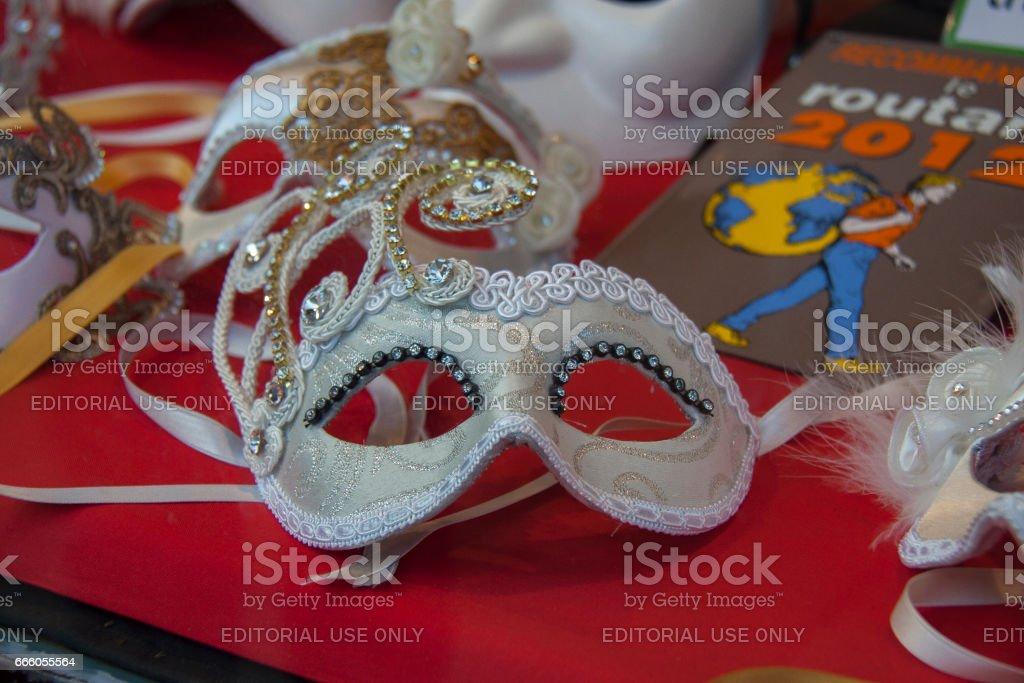 Venetian carnival face mask стоковое фото