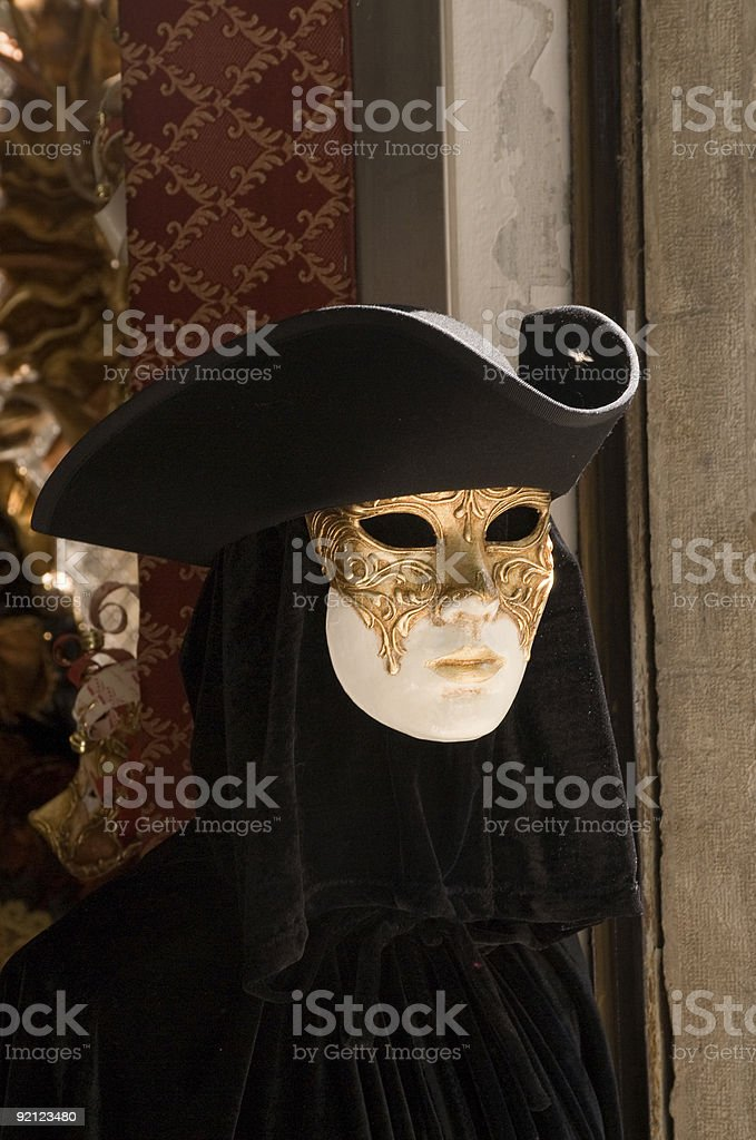 Venetian Carnival Mask royalty-free stock photo