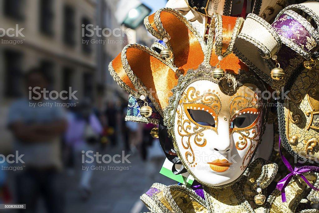 ベニスのカーニバルマスク - お祝いのロイヤリティフリーストックフォト