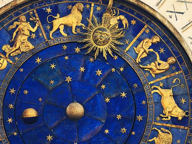 venetian clock stok fotoğrafı