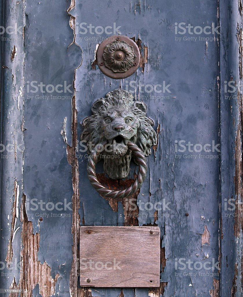 Venetian Door Knob.. stock photo