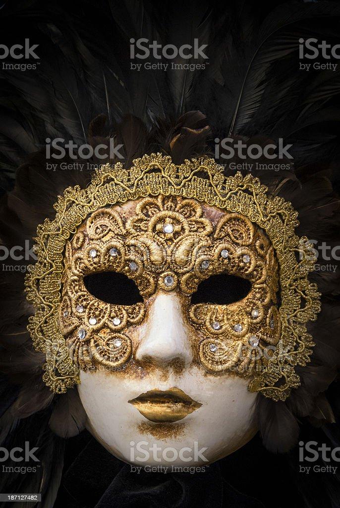 Venetian Face Mask royalty-free stock photo