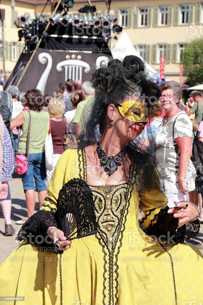 Venetian Fair 2012 in Ludwigsburg royalty-free stock photo