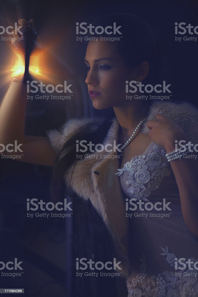 Venetian fairy royalty-free stock photo
