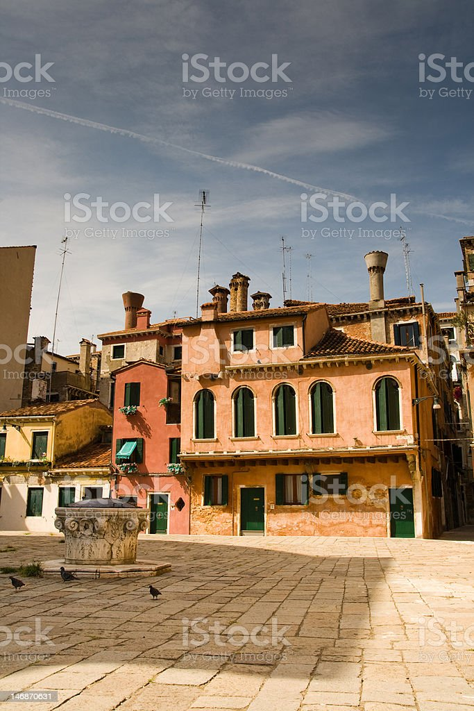 Campo veneziano royalty-free stock photo