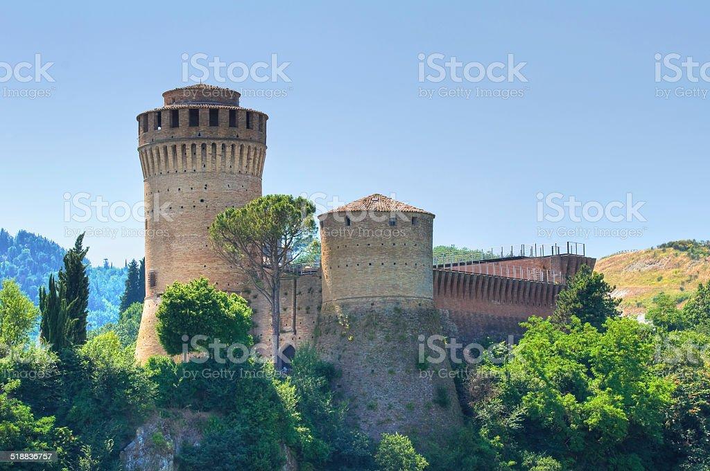 Venetian Fortress. Brisighella. Emilia-Romagna. Italy. stock photo