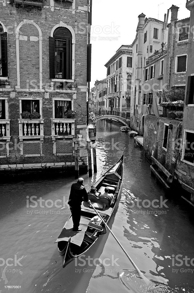 Venetian Gondola stock photo