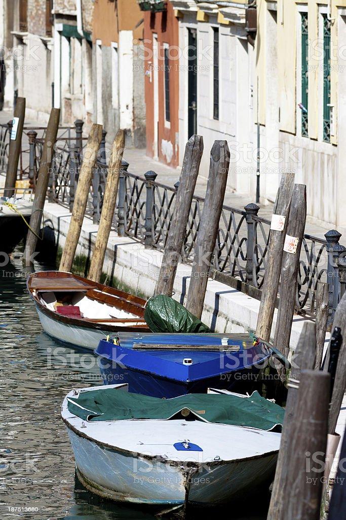 Gondole Veneziane, Venice - Italy royalty-free stock photo