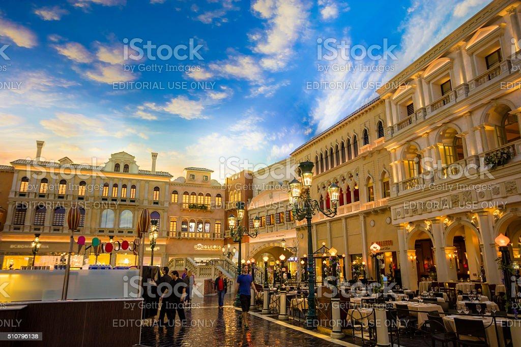 Venetian Hotel and Casino stock photo