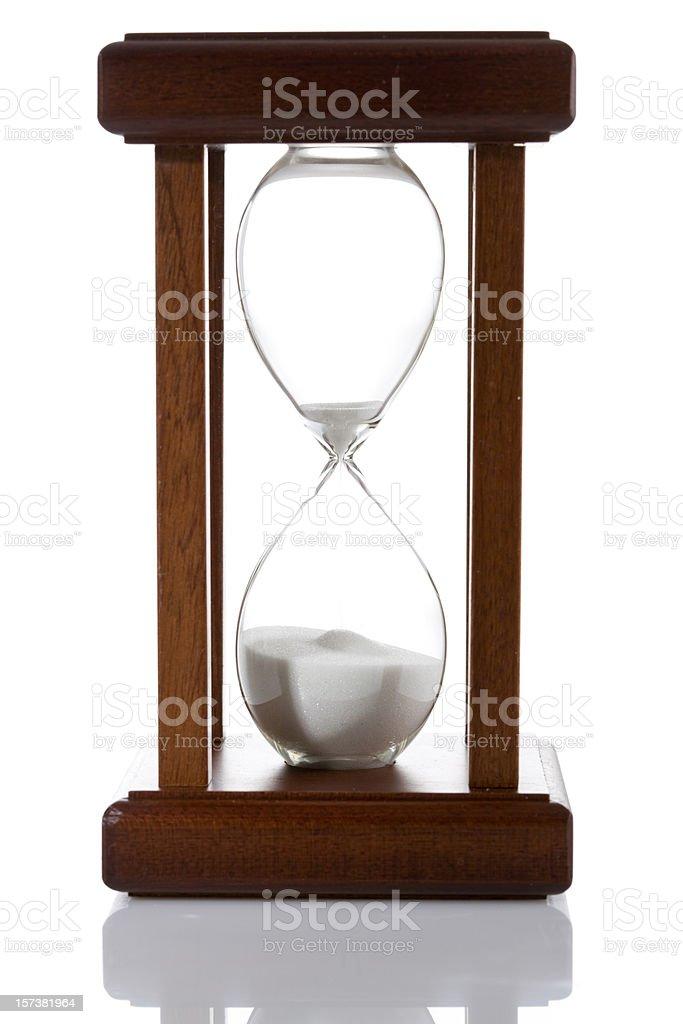 Venetian hourglass royalty-free stock photo