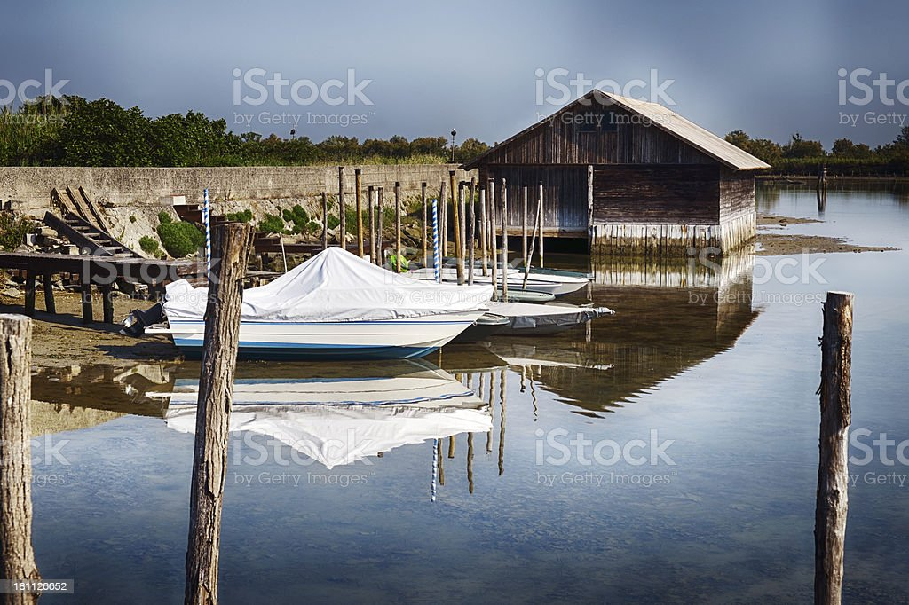 Venetian Lagoon royalty-free stock photo