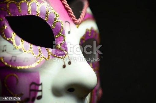 istock Venetian Mask 480471749