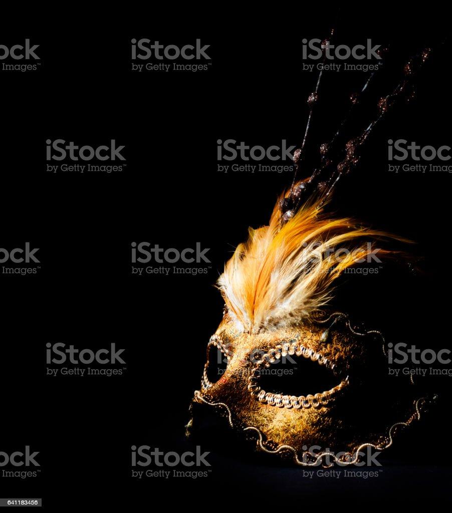 Venetian mask - foto de acervo