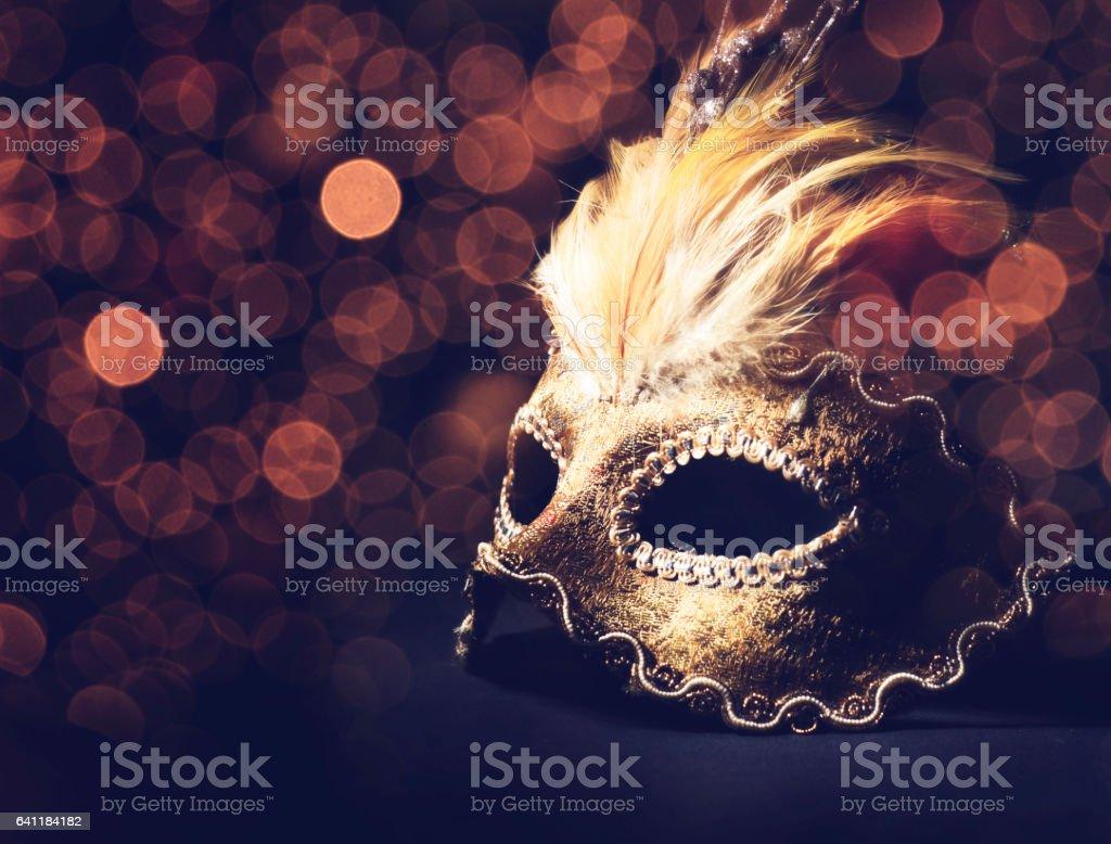 Máscara veneciana - foto de stock