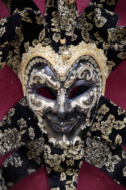 venezianische mask  - cro maske stock-fotos und bilder