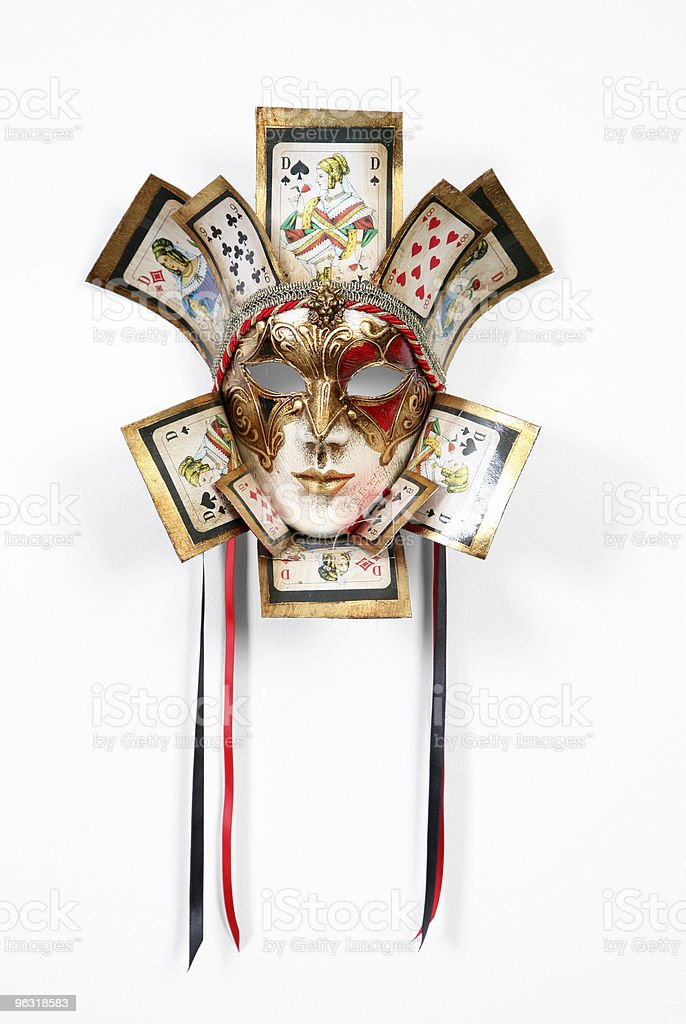 Venetian mask royalty-free stock photo
