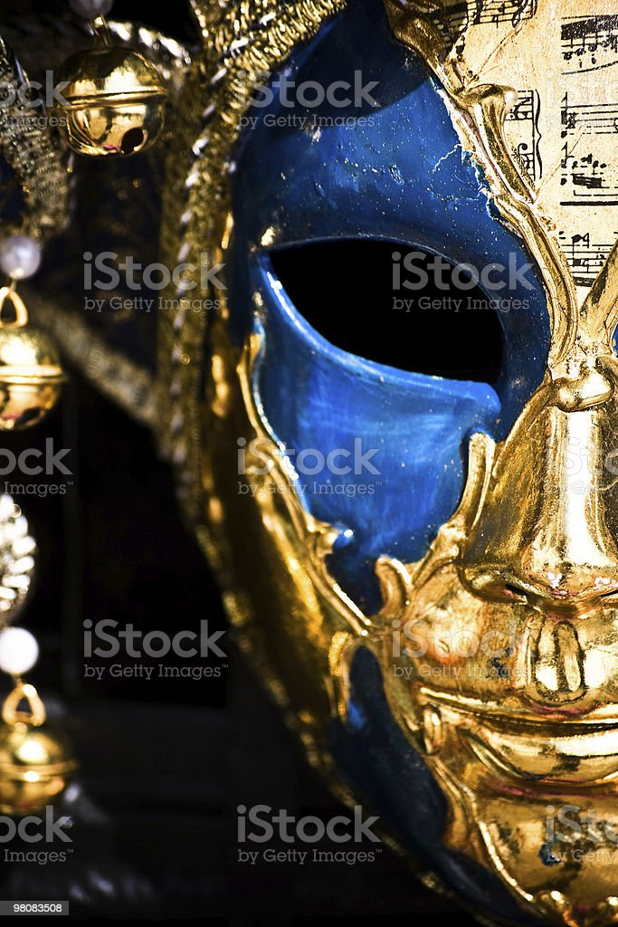 Maschera veneziana foto stock royalty-free