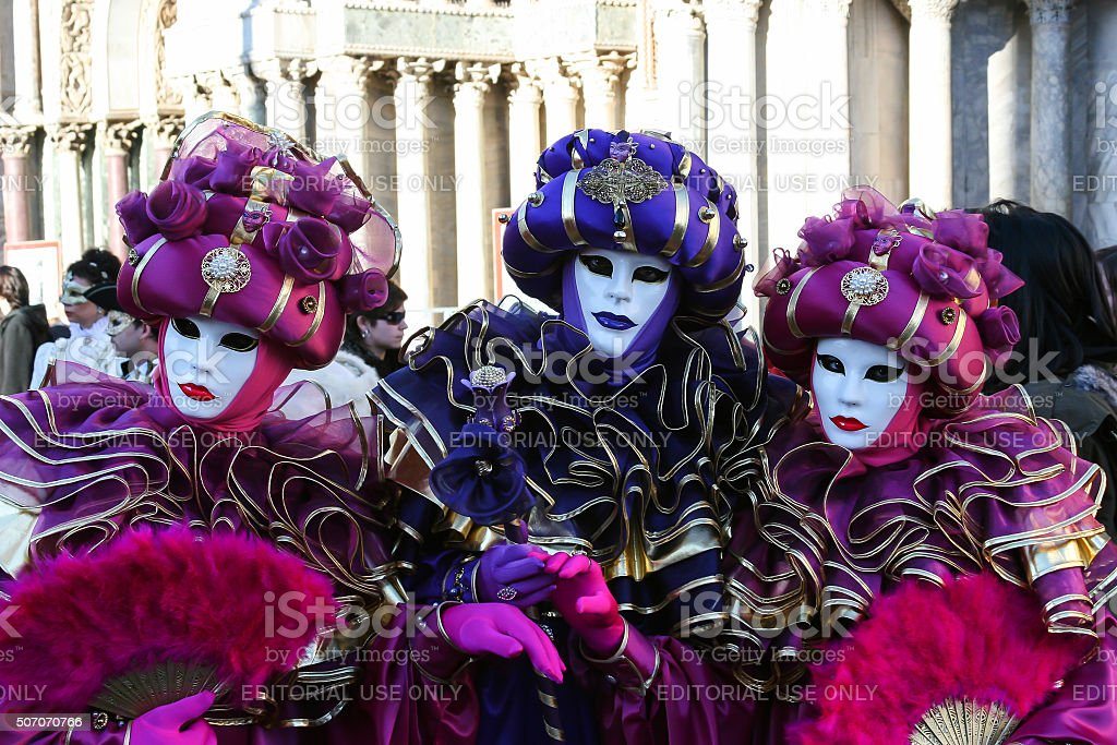 Venetian Masks, Venice, Italy stock photo