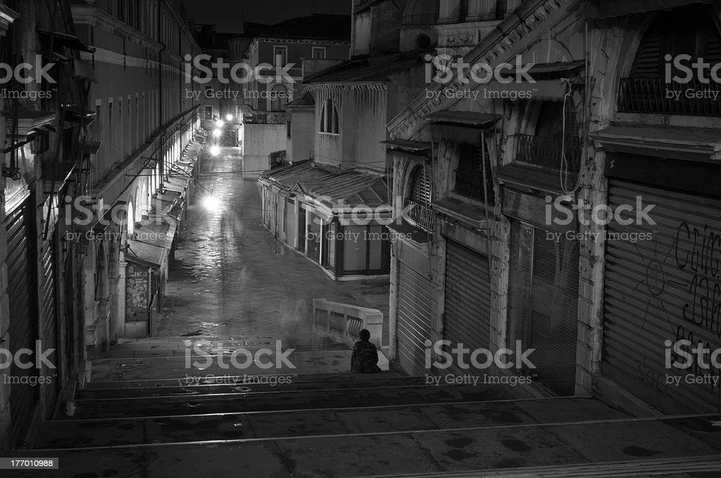 Venetian nights royalty-free stock photo