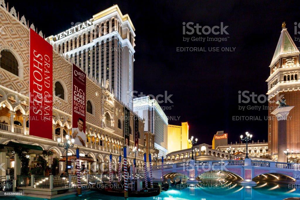 Venetian Resort Las Vegas stock photo