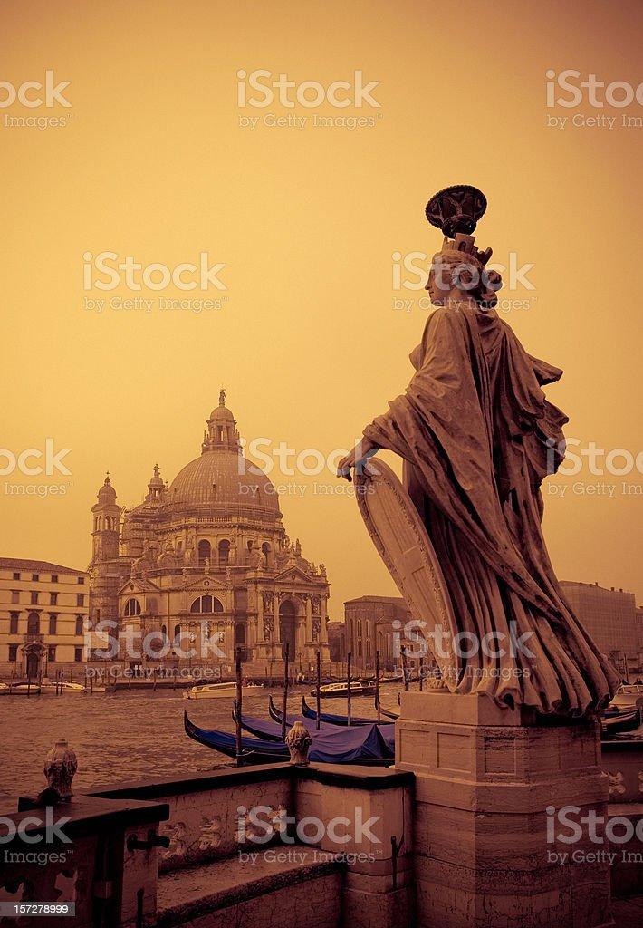 venetian scene - grand canal royalty-free stock photo