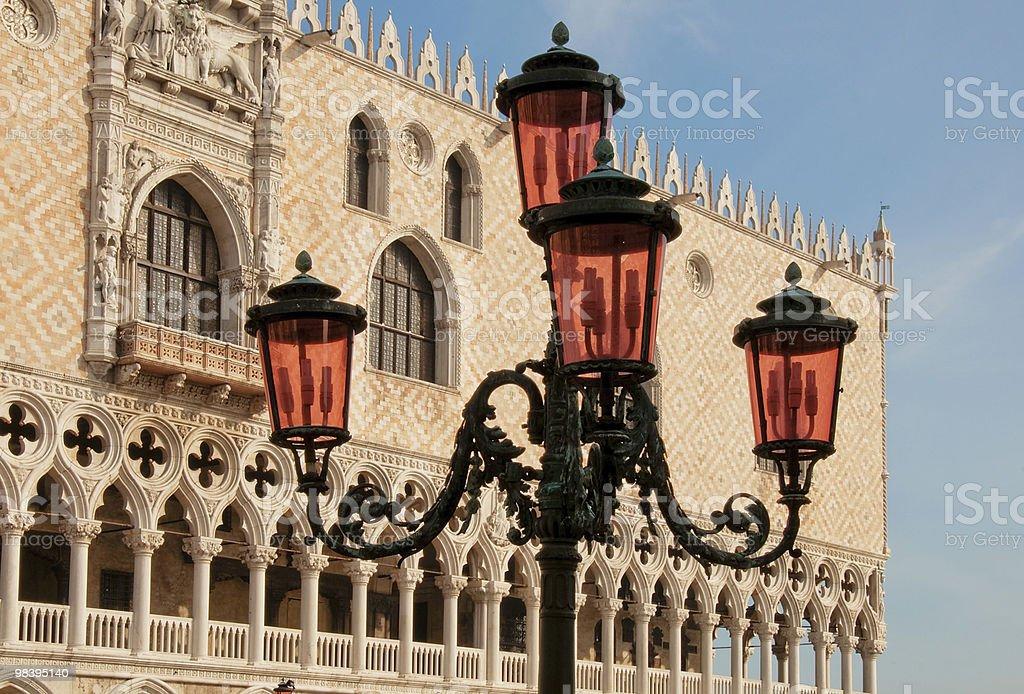 Venetian street lamp royalty-free stock photo