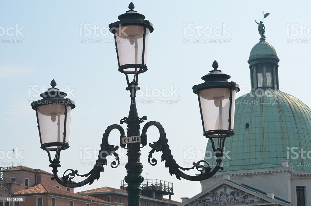 venetian street lights venice italy stock photo more pictures of