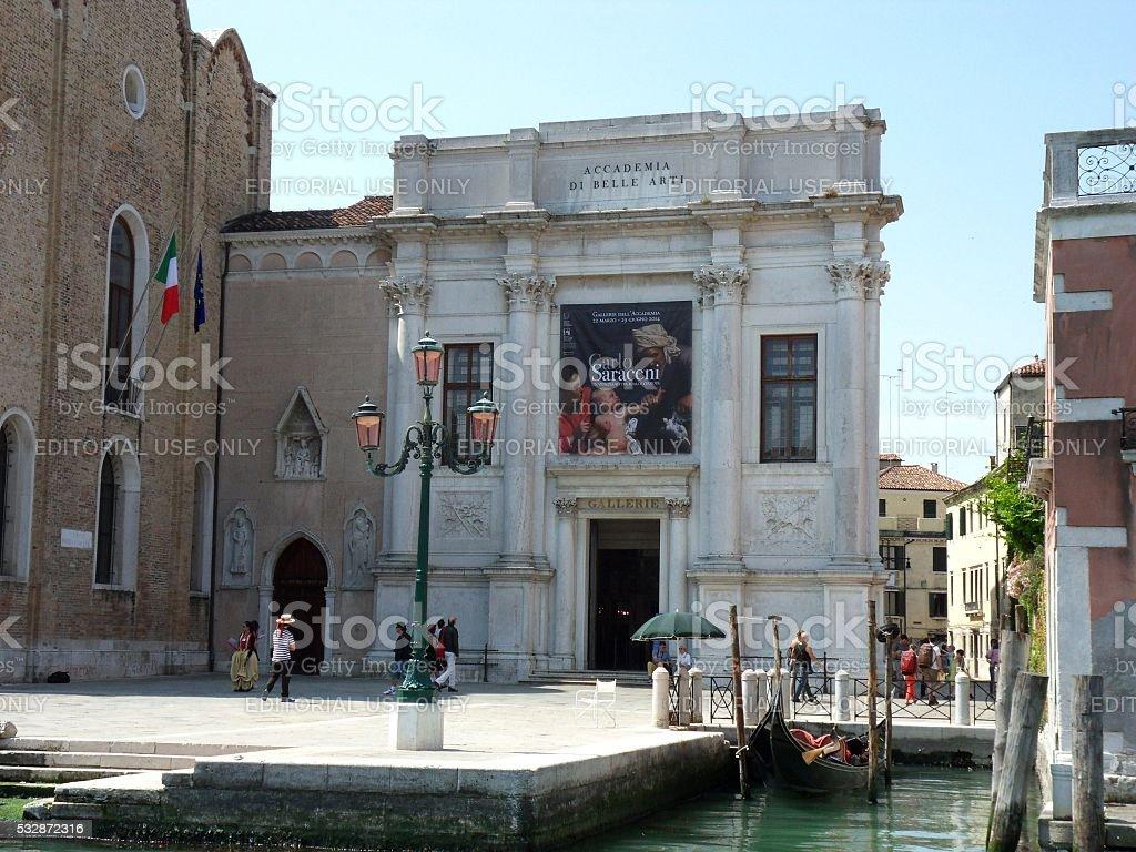 Venezia - Accademia di Belle Arti stock photo