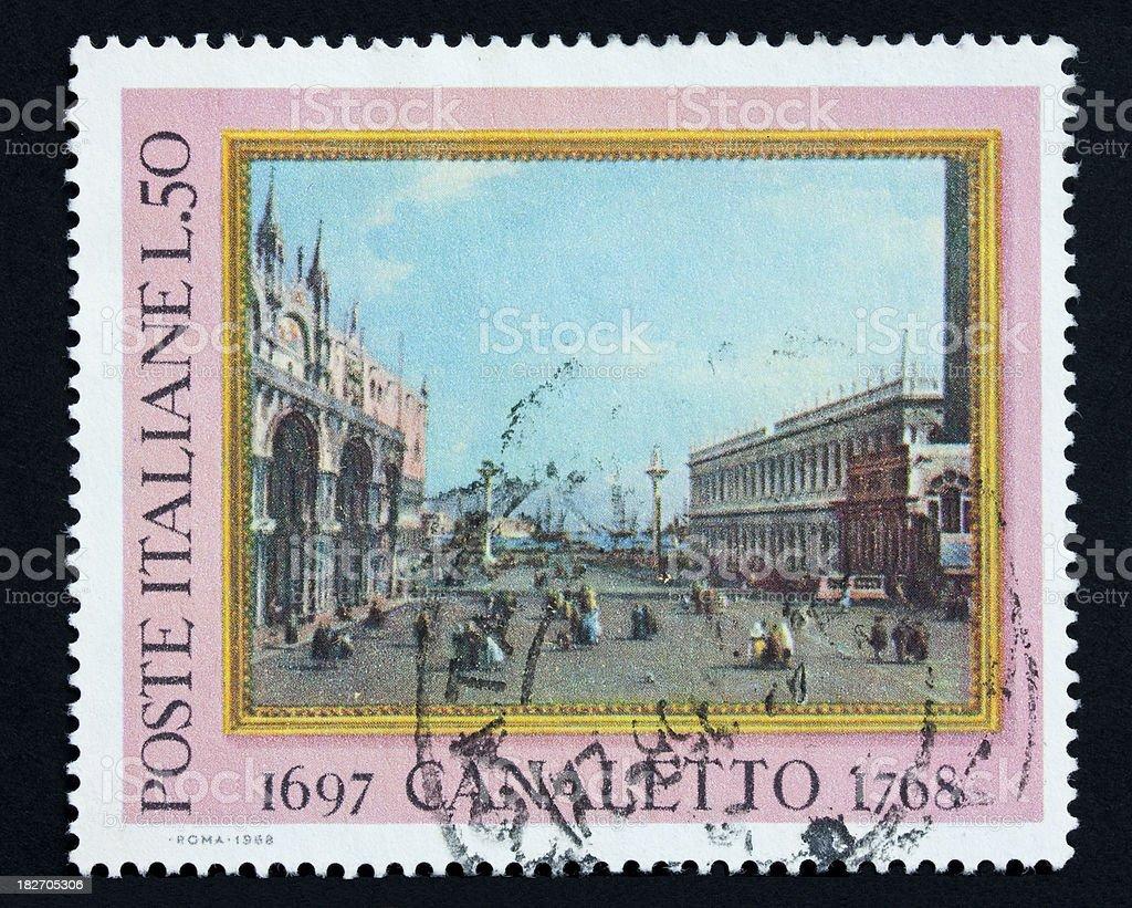 Venezia by Canaletto stock photo