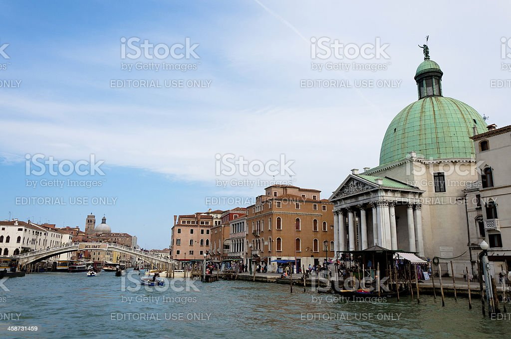 Venezia, Italy - Canal Grande royalty-free stock photo