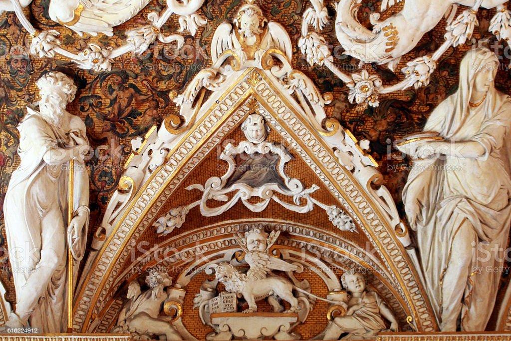 venezia palazzo ducale stock photo