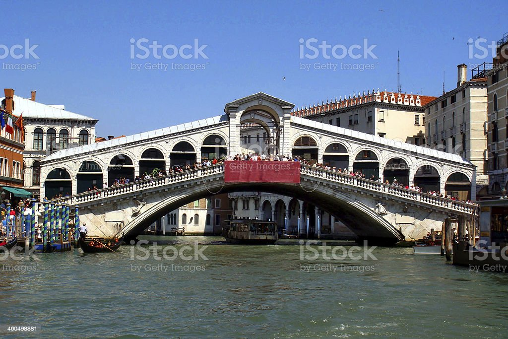 venezia ponte di rialto royalty-free stock photo