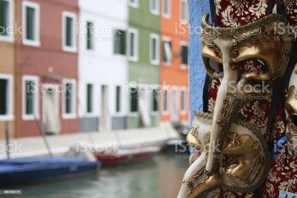 Venezianische Masken royalty-free 스톡 사진